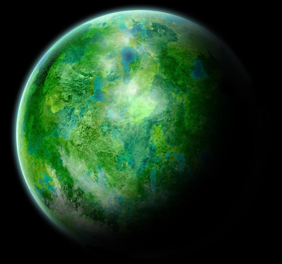 Planet - Gleenland by HPashkov