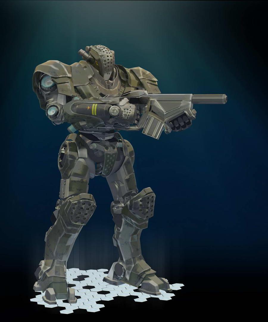 WIP ROBOT MARINS by HPashkov