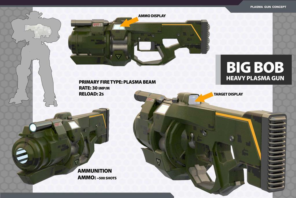 Plasma Gun concept by HPashkov