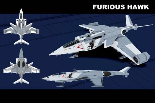 Furious Hawk VTOL Fighter - concept