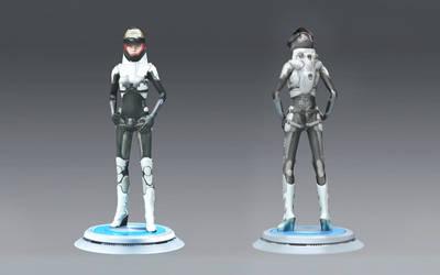 Pilot Female Suit