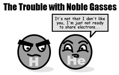The Trouble with Noble Gasses