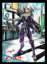 Gunnm 3 by Reneg30