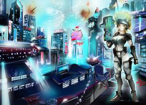 Distopic city!
