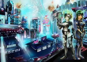 Ciudad Distopica 2