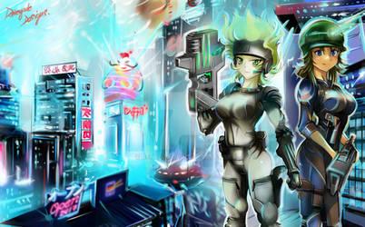 Ciudad Distopica!!