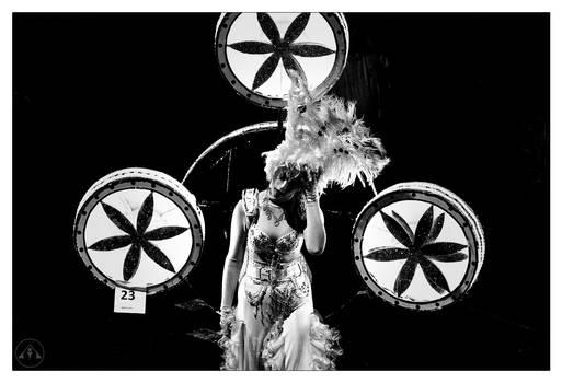 CLIVE AYRON ~ Carnival 2016 Cross Stresser
