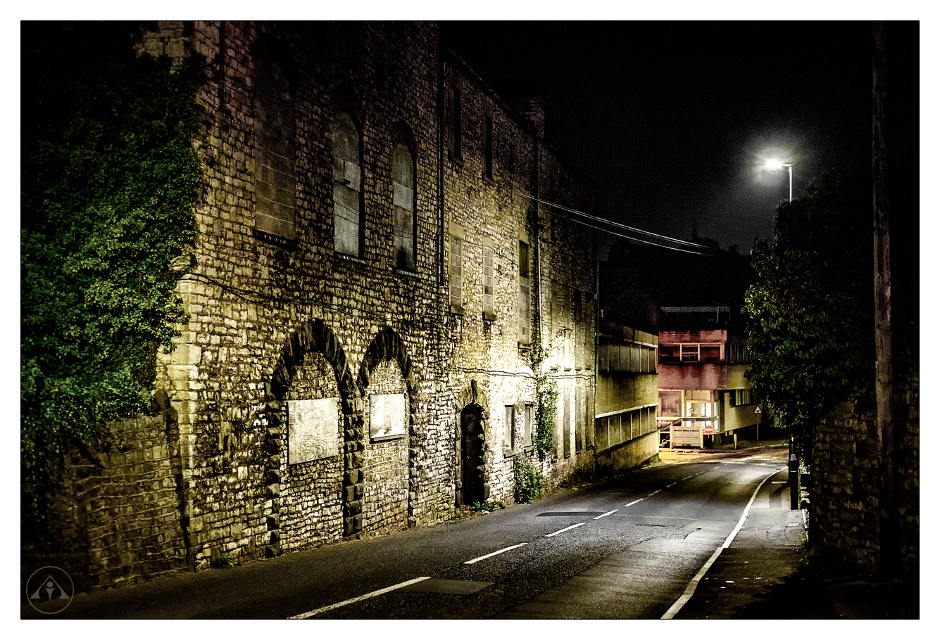 CLIVE AYRON ~ Midnight Stroll Down Station Road