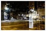 CLIVE AYRON ~ Bus Stop View