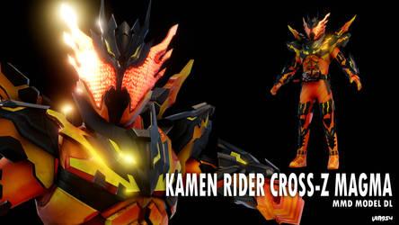 [200 WATCHERS GIFT] Kamen Rider Cross-Z Magma DL