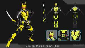[MMD DL] Kamen Rider Zero-One