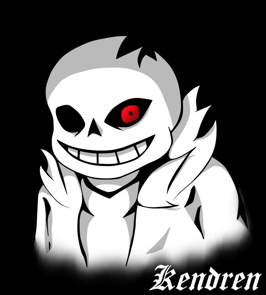 Horrortale Sans version 2.0 by Kendren