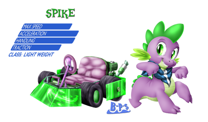 PonyKart - Spike