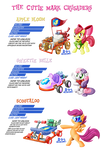 PonyKart - CMC's  -3 for 1-