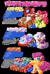 PonyKart - CMC's  -3 for 1-
