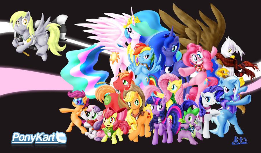 PonyKart Character Wallpaper