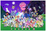 MLP FiM S2 Character Cluster-fun (update 1)