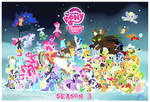 MLP FIM S3 Character Cluster-Fun (with credits)