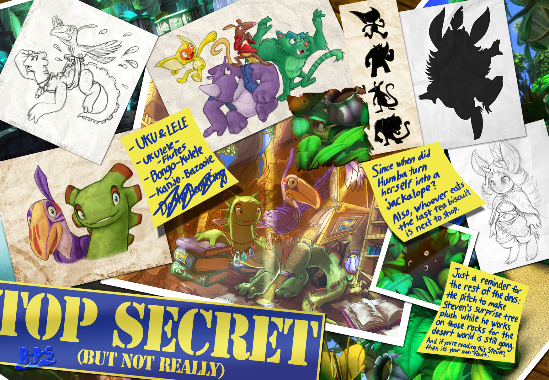 Lizard and Toucan? - Page 2 - Playtonic Forums