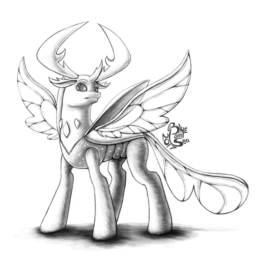 February Pony Sketch Challenge - 27 By Blue-Paint-Sea On DeviantArt