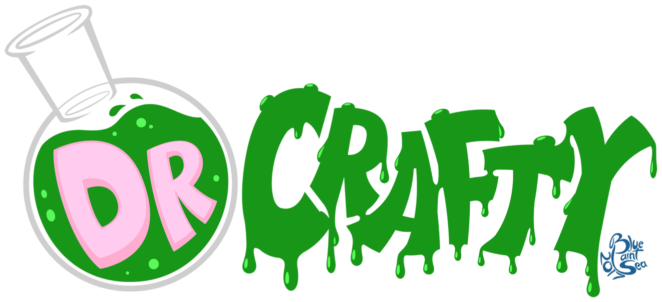 Commission - Dr Crafty Logo by Blue-Paint-Sea
