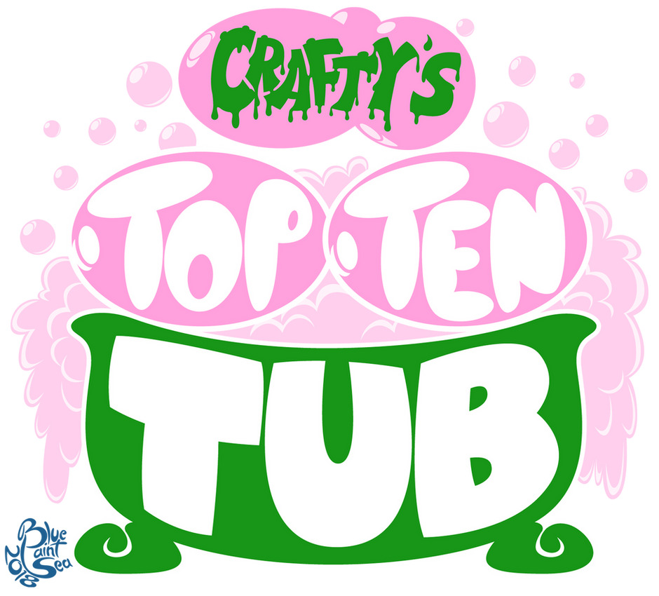 Commission - Crafty's Top Ten Tub Logo by Blue-Paint-Sea