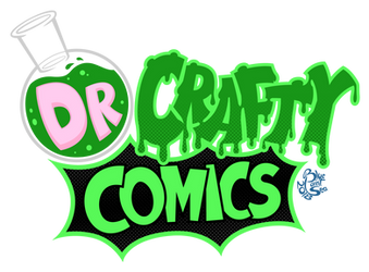 Dr Crafty Logo - Comics version by Blue-Paint-Sea