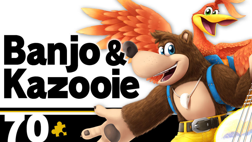 Smash Bros. Ultimate Banjo-Kazooie Fighter Card by Blue-Paint-Sea