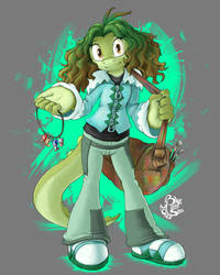 Bianca the Alligator by Blue-Paint-Sea