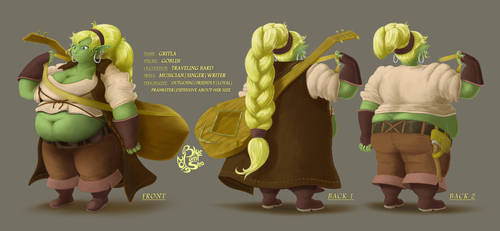 COMSN - Goblin Character Profile by Blue-Paint-Sea