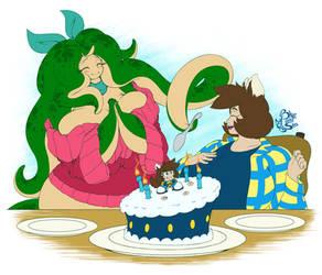 Gift - Goomba Cake