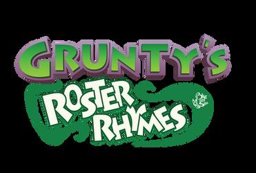 Grunty's Roster Rhymes Logo
