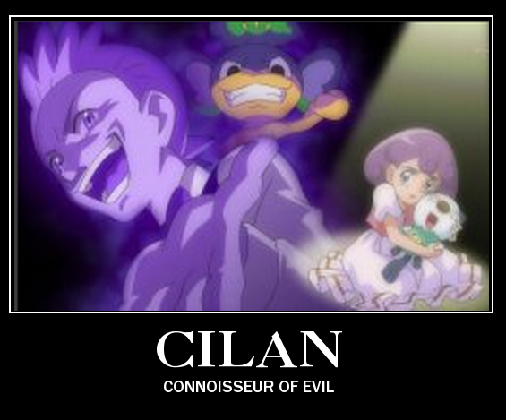 Pokemon: The Evil Cilan by Keyblade0