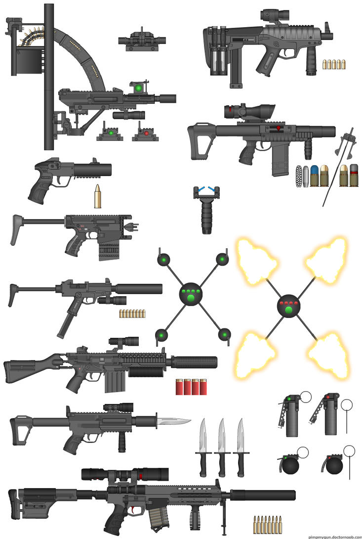 Cool Weapons To Make Assassin Weapon Series 1 by