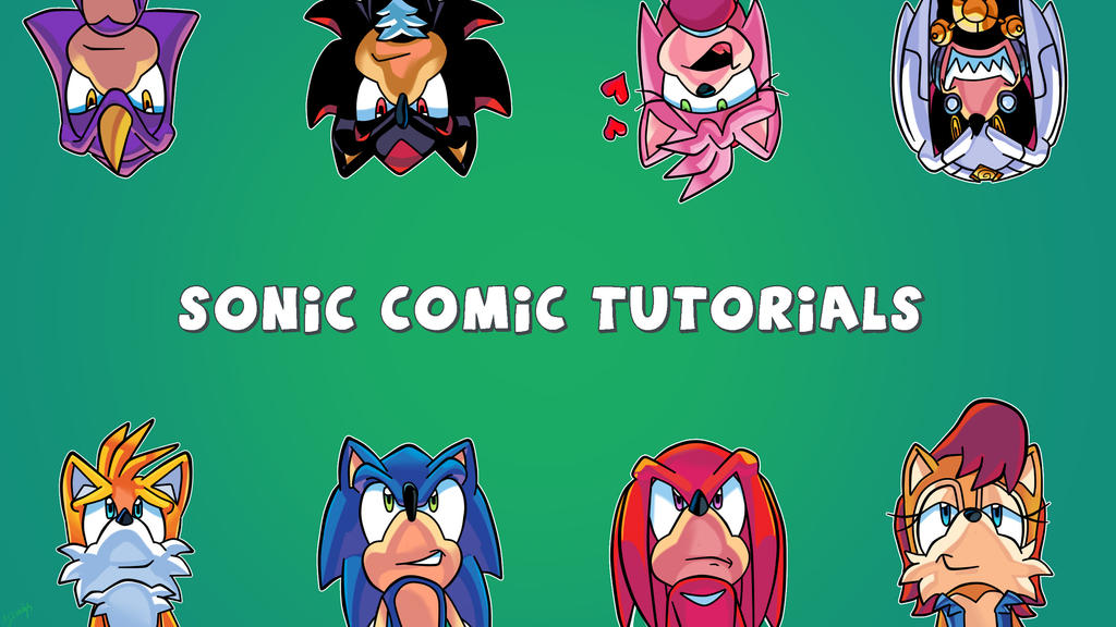 sonic comic tutorials by dredgeth on deviantart