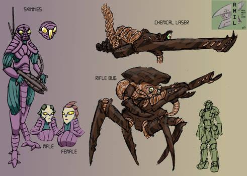 Skinnies And Rifle Bug