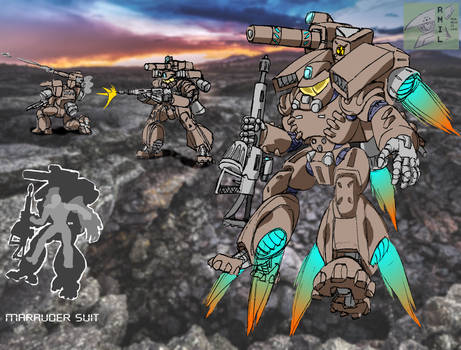 Marauder suit - Mobile Infantry- Starship Troopers
