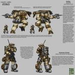 Buffalo And Gump - US Army Mech Rangers - 2060