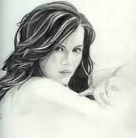 Kate Beckinsale by misterspudly
