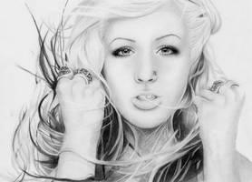 Christina Aguilera by Alohomora