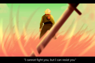 I cannot fight you by DrawingInterest