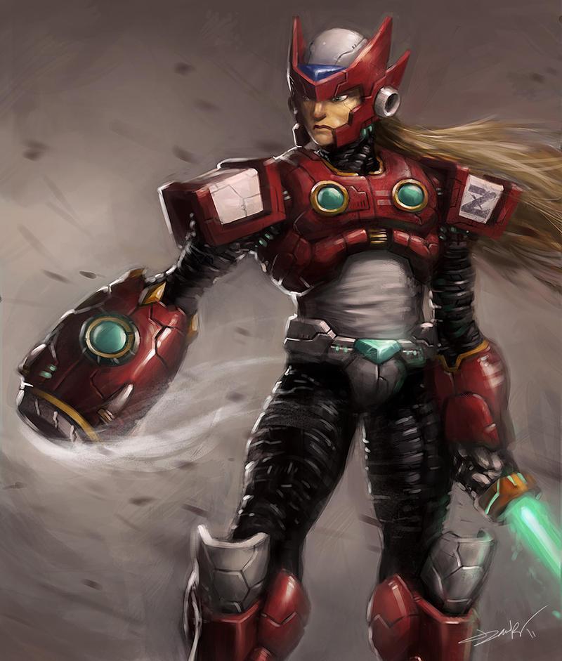 Maverick Hunter Zero By Lordbaells On DeviantArt