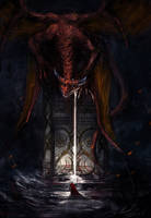 Gatekeeper of Valhalla by lordbaells