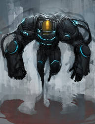 Sketch#020 Big Arms