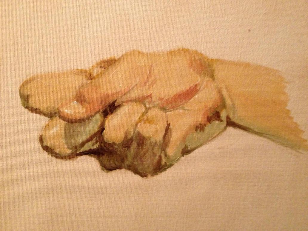 Hand study 1 by KannaMoako