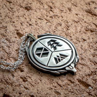 Destiny 2: Stand Together silver pendant by KristoLiiva