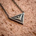 Elite: Dangerous the Empire emblem pendant by KristoLiiva