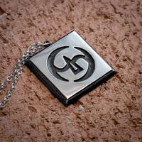 Final Fantasy XIV Samurai silver pendant by KristoLiiva