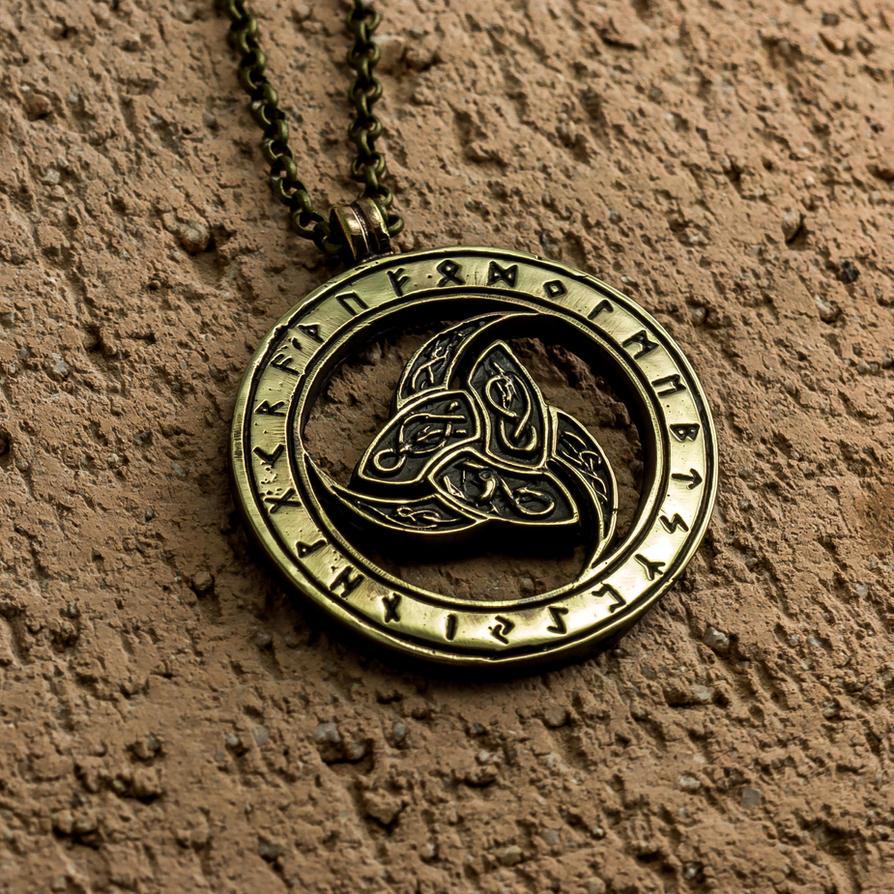 Odins trihorn pendant viking triple horn by kristoliiva on odins trihorn pendant viking triple horn by kristoliiva buycottarizona