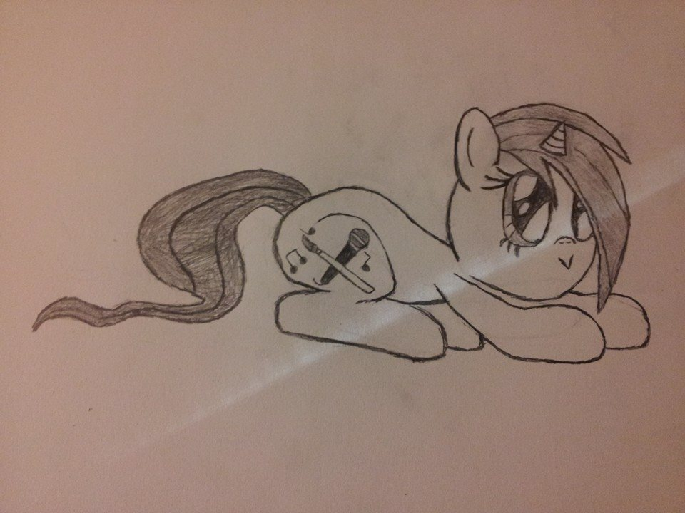 I'm gonna pretend to be a cat :3 (Request Sketch) by 2tailedD3rpy